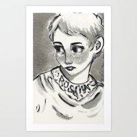 Roseymary's baby Art Print