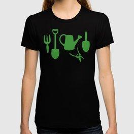 Green Garden Tools T-shirt