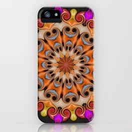 Jelly Bean Bonanza Mandala iPhone Case