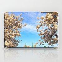 portland iPad Cases featuring Portland Hanami by Casey J. Newman