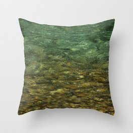 Riverbed Throw Pillow