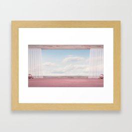 Sky Is The Limit Framed Art Print