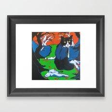 The Life of Bruce Framed Art Print