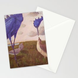 Ort the Purple Bird Stationery Cards
