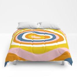 Antelope Canyon Stripes Comforters
