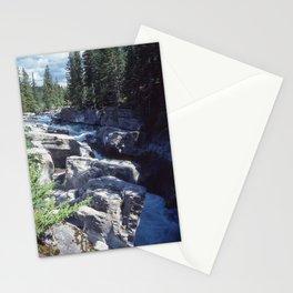 Maligne Canyon 5 Stationery Cards