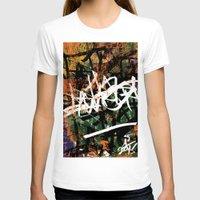 graffiti T-shirts featuring Graffiti  by A'lysia Alcorn