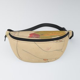 "Egon Schiele ""Two Women Embracing"" Fanny Pack"