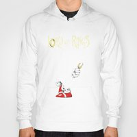 lord of the rings Hoodies featuring Lord of Rings by JohnLucke