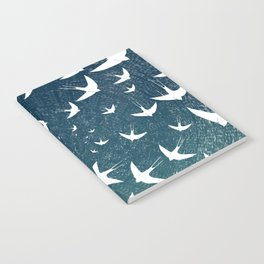 Birds Circle Notebook