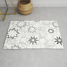 Hands and Stars Rug