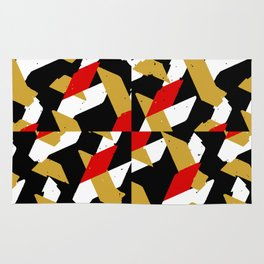 Colorful Abstract Pattern Rug