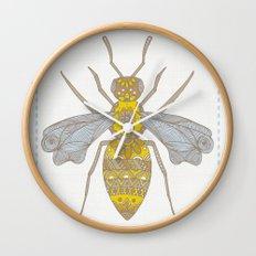 Mr Bee Wall Clock