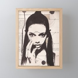 Marina Framed Mini Art Print