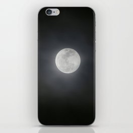 First Full Moon of 2018 iPhone Skin