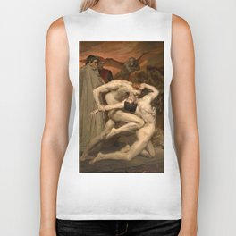 Dante and Virgil in Hell Biker Tank