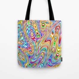 Acid Trip Rainbow 2 Tote Bag