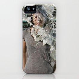 Veroniqu Hahn - Le Grand Spectacle du Lait // The Grand Spectacle of the Milking iPhone Case