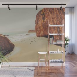 Beach Day - Ocean, Coast - Landscape Nature Photography Wall Mural