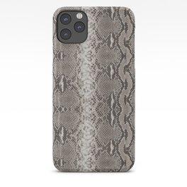 Python Snakeskin Print iPhone Case