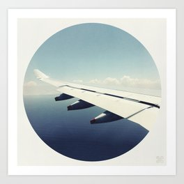 By Air Art Print