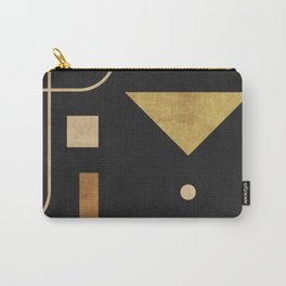 Subtle Opulence - Minimal Geometric Abstract 1 Carry-All Pouch