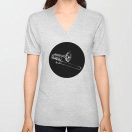 Black Trombone Unisex V-Neck