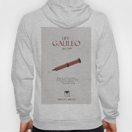 Life of Galileo Galilei, Bertolt Brecht, book cover, classic novel, play, poster, penguin, theatre Hoody