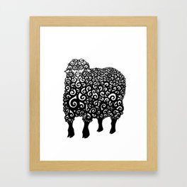 Mutton Framed Art Print