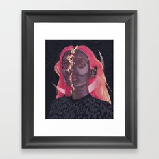 Inner beauty Framed Art Print