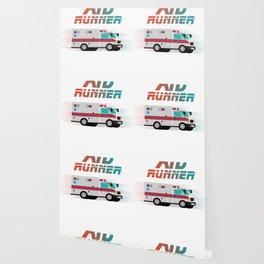 Funny Ambulance Shirt - Aid Runner Rescuer Gift Wallpaper