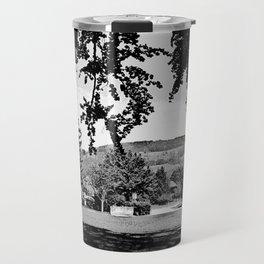 Black and white Impression 08 Travel Mug