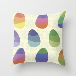 Easter Day Throw Pillow