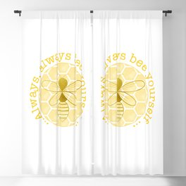 Bee yourself Blackout Curtain