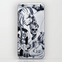 Peaceful Warlord iPhone Skin