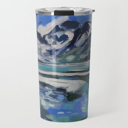 Rainbow Lake Travel Mug