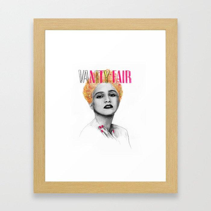 VANITY FAIR Framed Art Print