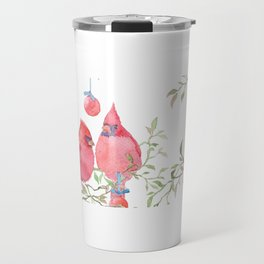 The Christmas Chirps Travel Mug