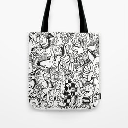 Coloring Page For Literacy Tote Bag