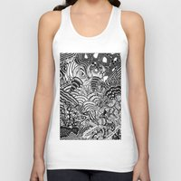 under the sea Tank Tops featuring Under the sea by Ommou