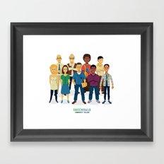 GreenDale Framed Art Print