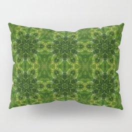 Green Flower Chain Pillow Sham