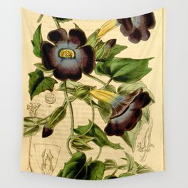 Thunbergia chrysops Wall Tapestry