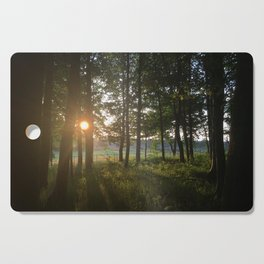 Dusk to Dawn Cutting Board