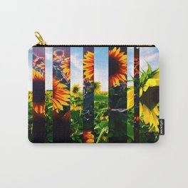 Sunflowers in Maryland Carry-All Pouch