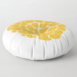 Texture Clump Floor Pillow