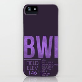 BWI iPhone Case