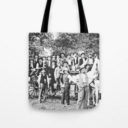 Original men of Lisle Tote Bag