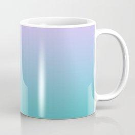 Pink Teal Ombre Gradient Summer Pattern Coffee Mug