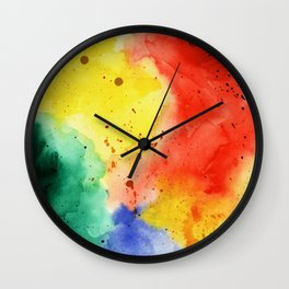 Holi Wall Clock